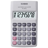 Calculadora Casio de Bolso HL-815L-WE - Branca
