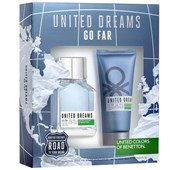 Kit Perfume Masculino Benetton United Dreams Go Far EDT