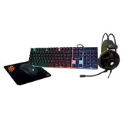 Kit Teclado + Mouse + Mousepad + Headband Argos TM-304 OEX