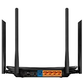 Roteador Wireless Tp-Link AC1200 Archer C6 Dual Band - Preto