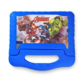 "Tablet Avengers Plus 7"" NB307 Multilaser - Azul"